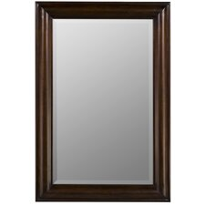 Julia Rectangle Mirror in Tobacco Finish