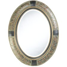 Sawyer Wall Mirror in Aged Brown