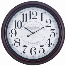 "Oversized 24.5"" Calhoun Wall Clock"
