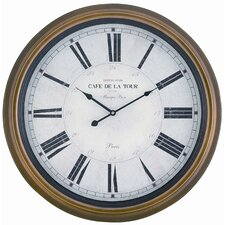 "Oversized 24.5"" Henley Wall Clock"