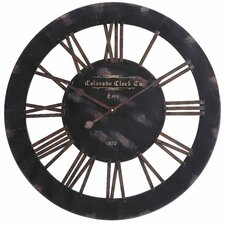 "Oversized 26.5"" Elko Wall Clock"