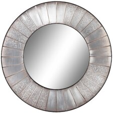 Clifton Mirror in Distressed Silver