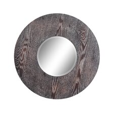 Hinkley Mirrors in Distressed Dark Natural Wood (Set of 3)