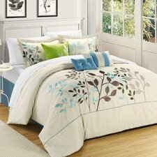 <strong>Chic Home</strong> Bouquet 8 Piece Comforter Set