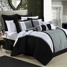 <strong>Chic Home</strong> Livingston 8 Piece Comforter Set