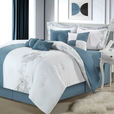 <strong>Chic Home</strong> Ann Harbor 8 Piece Comforter Set