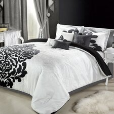 <strong>Chic Home</strong> Lakhani 8 Piece Comforter Set