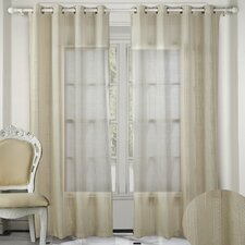 Crystal Grommet Curtain Panel (Set of 2)