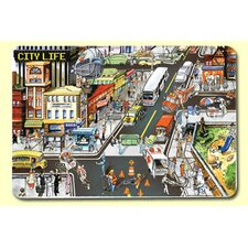 <strong>Painless Learning Placemats</strong> City Life Placemat