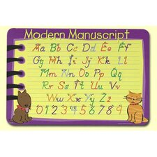 <strong>Painless Learning Placemats</strong> Modern Manuscript Placemat
