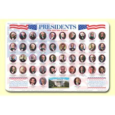 Presidents Placemat (Set of 4)