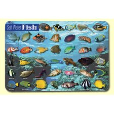 Saltwater Fish Placemat