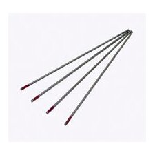 "3/32"" X 7"" Heliarc® Ground Finish 2% Thoriated Tungsten Electrode (10 Per Package)"