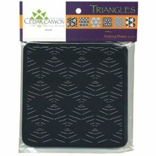 Triangles Rubbing Plate Set (Set of 6)