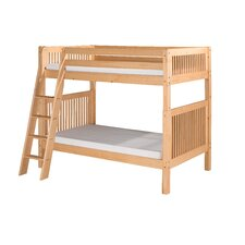 Bunk Bed with Angle Ladder and Mission Headboard