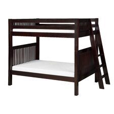 <strong>Camaflexi</strong> Twin Over Twin Standard Bunk Bed with Lateral Angle Ladder