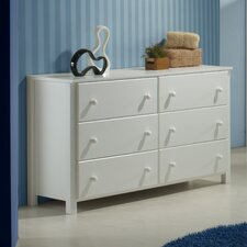 <strong>Camaflexi</strong> 6 Drawer Double Dresser