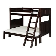 <strong>Camaflexi</strong> Twin over Full Bunk Bed with Angle Ladder