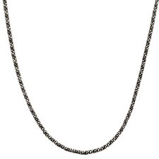 Sterling Silver Python Popcorn Necklace