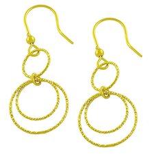 Diamond Cut Multi Loop Dangle Earrings
