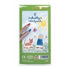 <strong>Finetec</strong> Chubby Colored Pencil (Set of 8)