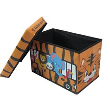 Children's Animal Bus Large Folding Storage Ottoman