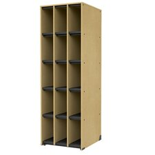 "Band-Stor 27.75"" 15 Compartment Instrument Storage Cabinet"
