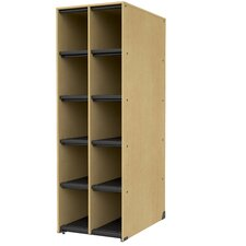 "Band-Stor 27.75"" 10 Compartment Instrument Storage Cabinet"