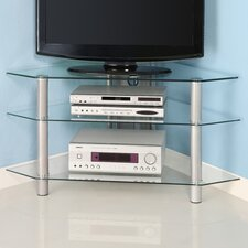 "<strong>Home Loft Concept</strong> 44"" Glass Corner TV Stand"