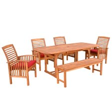<strong>Home Loft Concept</strong> 6 Piece Dining Set