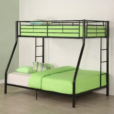 Sunrise Twin over Full Bunk Bed with Built In Ladder