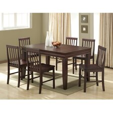 <strong>Home Loft Concept</strong> Ashlyn 7 Piece Fancy Dining Set