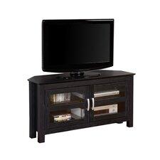 "44"" Wood Corner TV Stand"