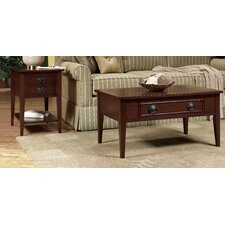 <strong>Wildon Home ®</strong> American Federal Coffee Table Set