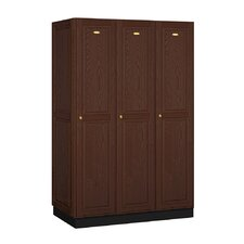 1 Tier 3 Wide Executive Locker