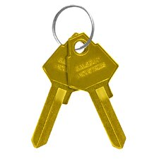 Key Blanks for Standard Locks of Aluminum Mailboxes (Set of 50)