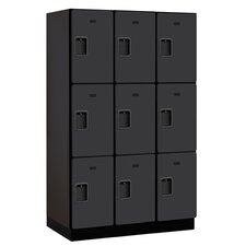 Extra Wide Designer Triple Tier 3 Wide Locker