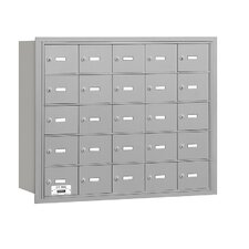 <strong>Salsbury Industries</strong> 4B+ 25 Door Rear Loading Horizontal Mailbox for USPS Access