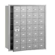 4B+ 35 Door Front Loading Horizontal Mailbox for Private Access