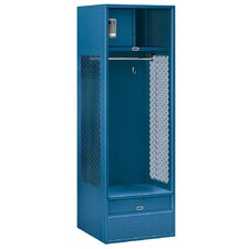 Unassembled Open Access Standard Locker