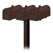 Heavy Duty Rural Mailbox Set