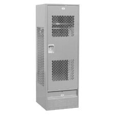 2 Tier 1 Wide  Standard Gear Locker