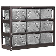 3 Tier 3 Wide  Basket Locker