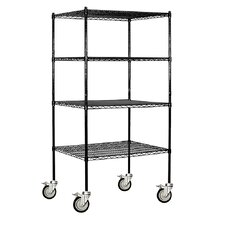 Wire Mobile Shelving
