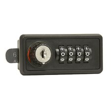 Resettable Combination Lock for Cell Phone Storage Locker Door