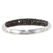 <strong>Designer Diamonds</strong> White Gold Pave Set Diamond Band