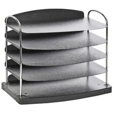 <strong>Buddy Products</strong> TrioTM 5 Pocket Horizontal Desk Tray