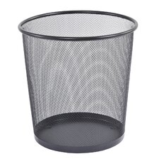 <strong>Buddy Products</strong> Mesh Rounded Wastebasket