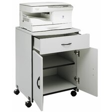 Wood Laser Printer and Copier Stand with Drawer