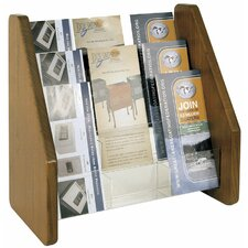 9 Pocket Brochure Rack